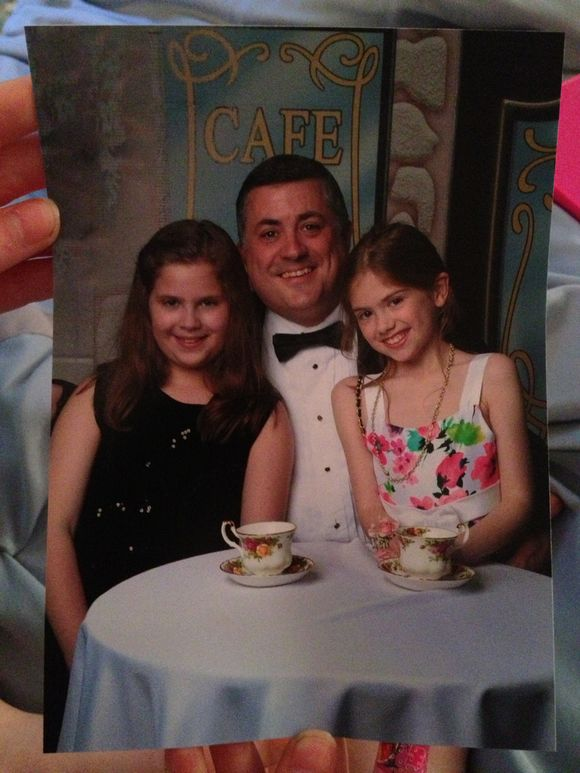 Daddy daughter dance photo!!