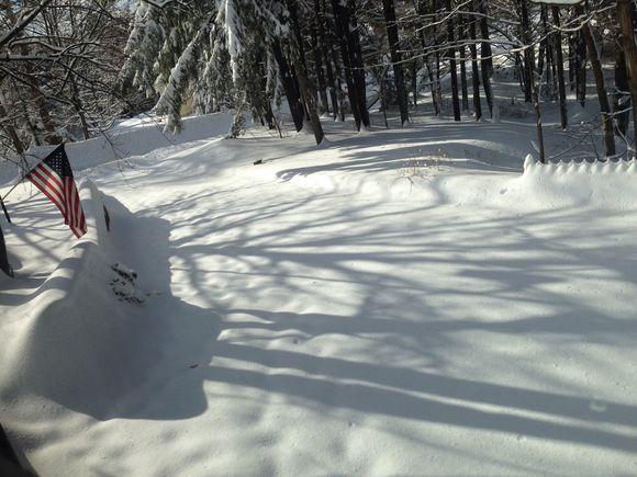 Feb 14, 2014 -- Big snow!!! Part 1